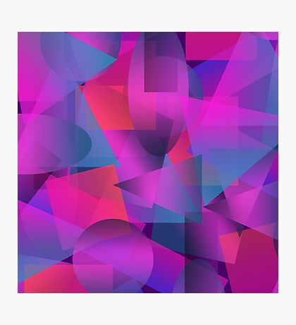 Abstract cube Photographic Print