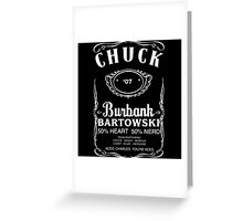 Chuck Whiskey Greeting Card