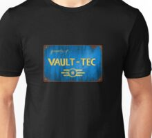 Metal Vault Sign Unisex T-Shirt