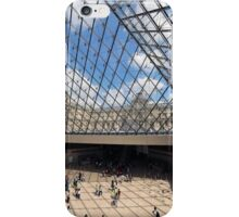 Louvre up and down iPhone Case/Skin