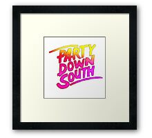Party Down South Framed Print