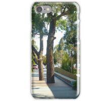 *Trees & Seating, Wyndham City Town Hall, Vic. Australia*  iPhone Case/Skin