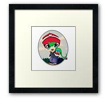 Jack the Pokemon Trainer Framed Print