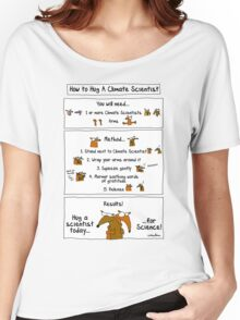 How To Hug A Climate Scientist Women's Relaxed Fit T-Shirt