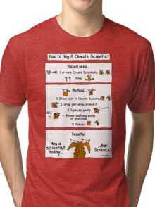 How To Hug A Climate Scientist Tri-blend T-Shirt