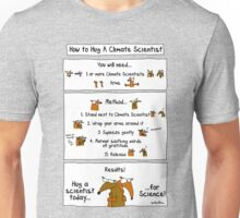 How To Hug A Climate Scientist Unisex T-Shirt