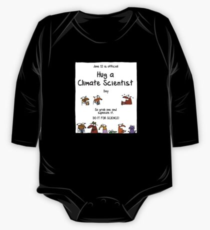 June 12 is official Hug A Climate Scientist Day One Piece - Long Sleeve