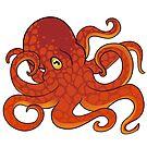 Octopus by tobiejade