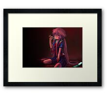 yuno starry eyed Framed Print