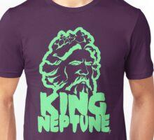 King Neptune Head - Green Unisex T-Shirt