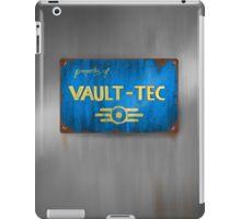 Metal Vault Sign iPad Case/Skin