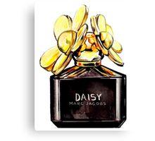 Daisy Gold Canvas Print