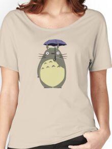 totoro umbrela Women's Relaxed Fit T-Shirt