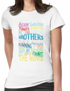 Rick and Morty Two Brothers Womens Fitted T-Shirt