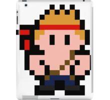 Pixel Bill Rizer iPad Case/Skin