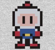 Pixel Bomberman One Piece - Long Sleeve