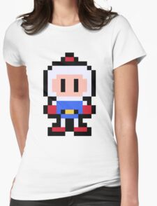 Pixel Bomberman Womens Fitted T-Shirt