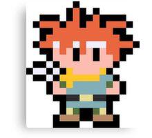 Pixel Crono Canvas Print