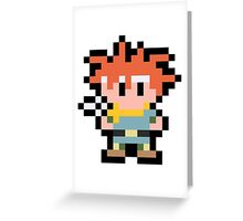 Pixel Crono Greeting Card