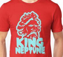King Neptune Head - Blue Unisex T-Shirt