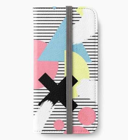 80's Theme iPhone Wallet/Case/Skin