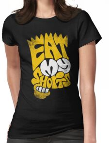 eat my short Womens Fitted T-Shirt