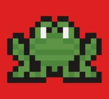 Pixel Frogger One Piece - Short Sleeve