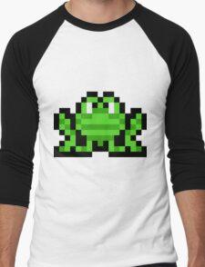 Pixel Frogger Men's Baseball ¾ T-Shirt