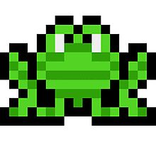 Pixel Frogger Photographic Print