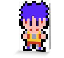 Pixel Goemon Greeting Card