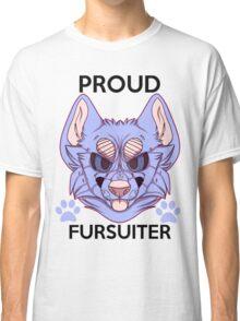 Proud Fursuiter T-shirt (REMADE) Classic T-Shirt