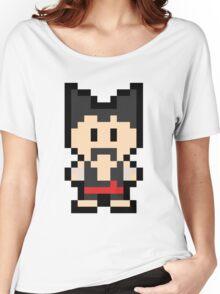 Pixel Heihachi Mishima Women's Relaxed Fit T-Shirt