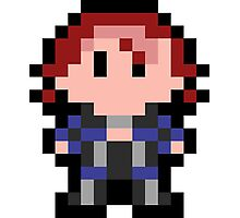 Pixel Joanna Dark Photographic Print
