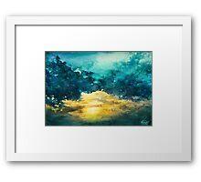 Watercolor Sky No 3 Framed Print