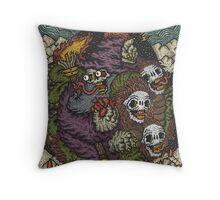 Wild Wiz Throw Pillow