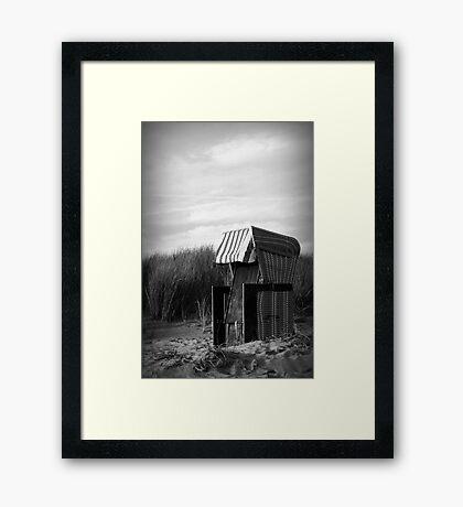 STRANDKORB Framed Print