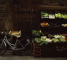 Bike and Veggies by Larry3