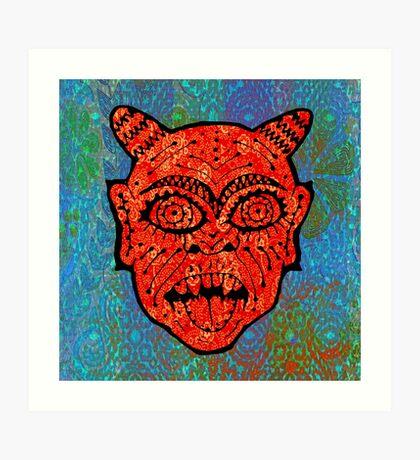 'Handsome Devil Mask #2' Art Print