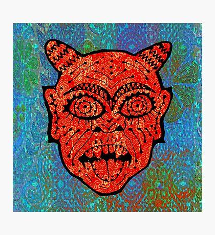 'Handsome Devil Mask #2' Photographic Print