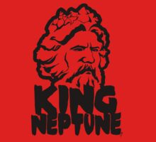 King Neptune Head - Black Kids Clothes