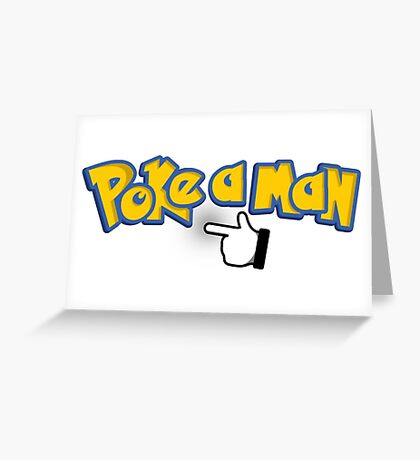Pokemon Spoof Greeting Card
