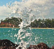 Geyser in Northern Territory Australia Sticker