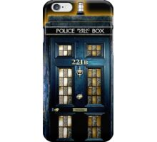 Police Blue Box The Doctor iPhone Case/Skin