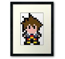 Pixel Sora Framed Print