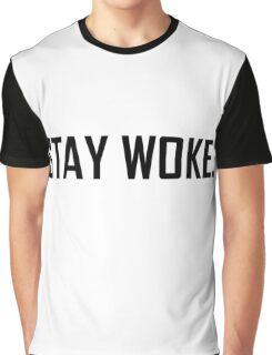 Stay Woke Graphic T-Shirt