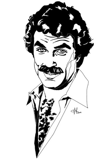 Magnum P.I. - Tom Selleck by ilmagatPSCS2