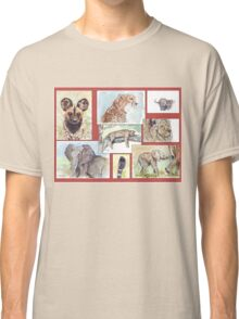 South African Wildlife collection Classic T-Shirt