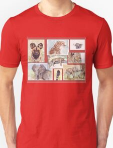 South African Wildlife collection Unisex T-Shirt