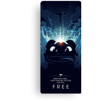 How to Train your Dragon 2 - Freedom Canvas Print