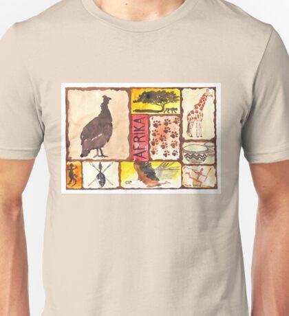 'n Afrika Collage en Bosvelddrome | An African Collage   Unisex T-Shirt